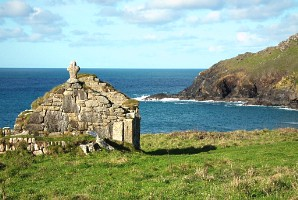 Old Celtic Oratory at Cape Cornwall