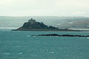 St Michael's Mount from Cudden Point